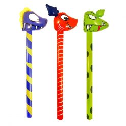 Inflatable Cartoon Dinosaur Stick - 3 Types Available - 118cm