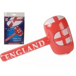 Inflatable St. George's England Flag Mallet - 70cm