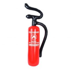 Inflatable Red Fire Extinguisher - 70cm