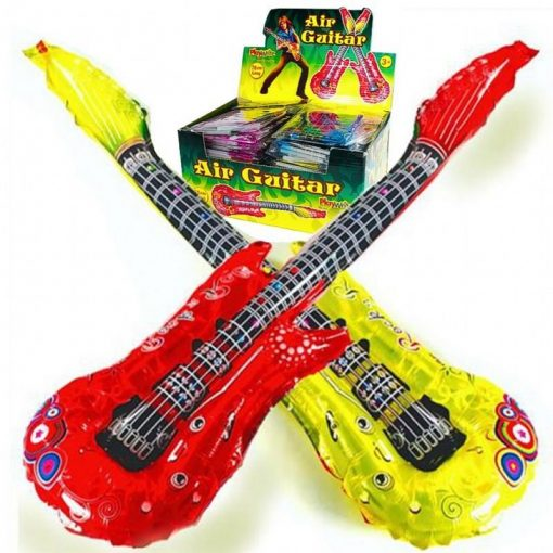 Inflatable Foil Guitar - 4 Colours Available - 85cm