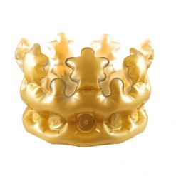 Inflatable Gold Crown - Child - 30cm
