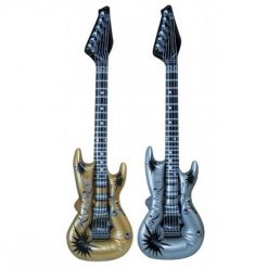 Inflatable Guitar - Gold or Silver - 106cm