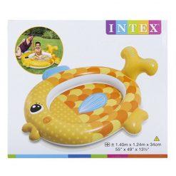 Inflatable Baby Goldfish Toddler Paddling Pool