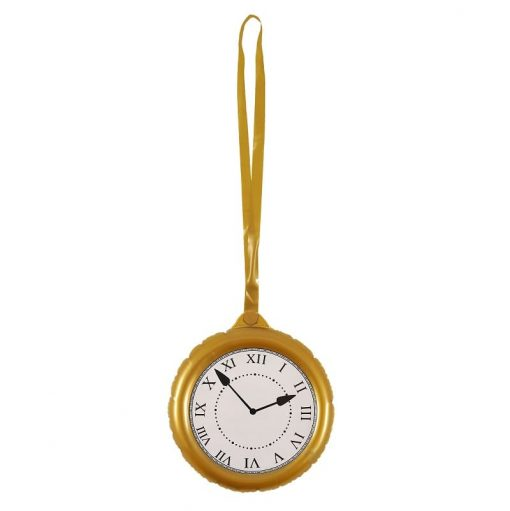 Giant Inflatable Jumbo Pocket Watch Clock with Strap - 25cm