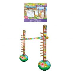 Inflatable Limbo Game - 2 Racked Poles and Limbo Stick