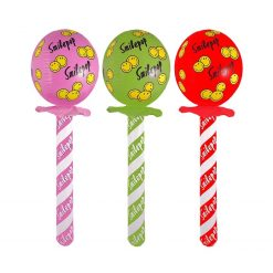 Inflatable Lollipop - Pink, Green or Red - 72cm
