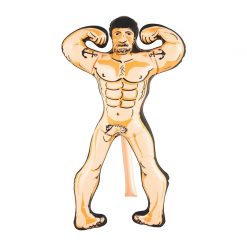 Inflatable Muscle Man Doll - 60cm