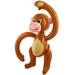 Inflatable Brown Monkey - 58cm