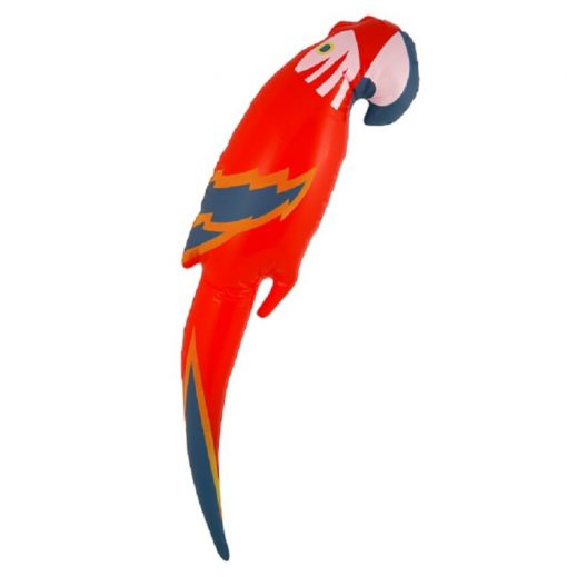 Inflatable Red Parrot - 45cm