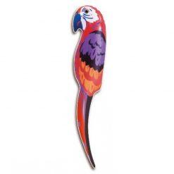 Inflatable Multicolour Tropical Parrot - 48cm