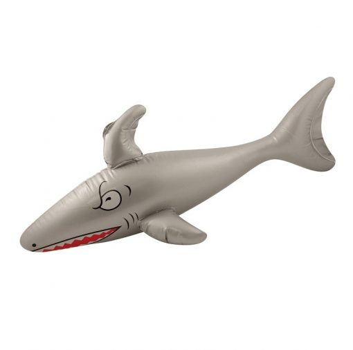 Inflatable Silver Shark - 90cm
