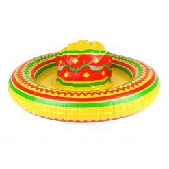 Inflatable Mexican Sombrero Hat - 53cm
