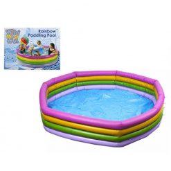 Jumbo 4 Colour Ring Paddling Pool - 177 x 35cm