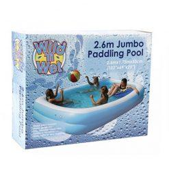 Jumbo Paddling Pool Inflatable - 2.6 Metre