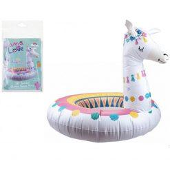 Llama Pool Swim Ring Inflatable - 91cm