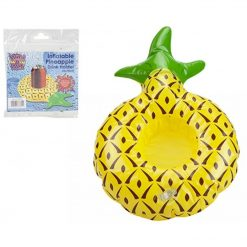 Inflatable Pineapple Drinks Holder - 26 x 18cm