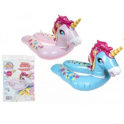 Inflatable Unicorn Split Ring Swim Ring - 2 Colours - 55cm