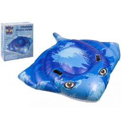 Inflatable Large Stingray Lounger - 188 x 145cm