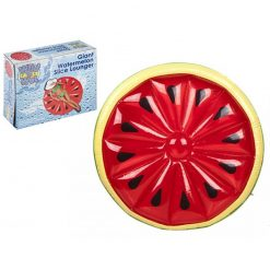 Inflatable Watermelon Pool Lounger - 150 x 150 x 25cm